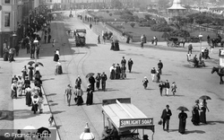 Rothesay, People, The Esplanade 1897