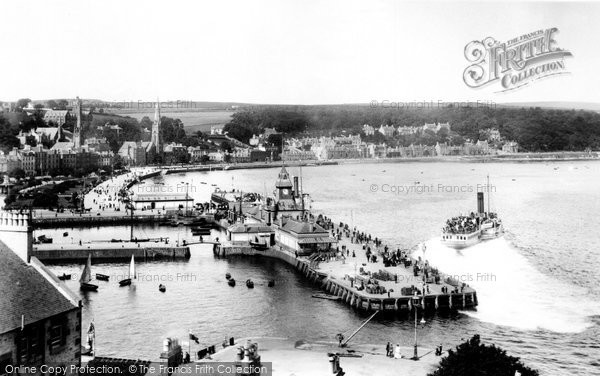 Photo of Rothesay, Pier And Steamer 1904