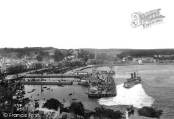 Pier And Steamers 1904, Rothesay