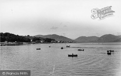 Rothesay, The Clyde From Promenade c.1955