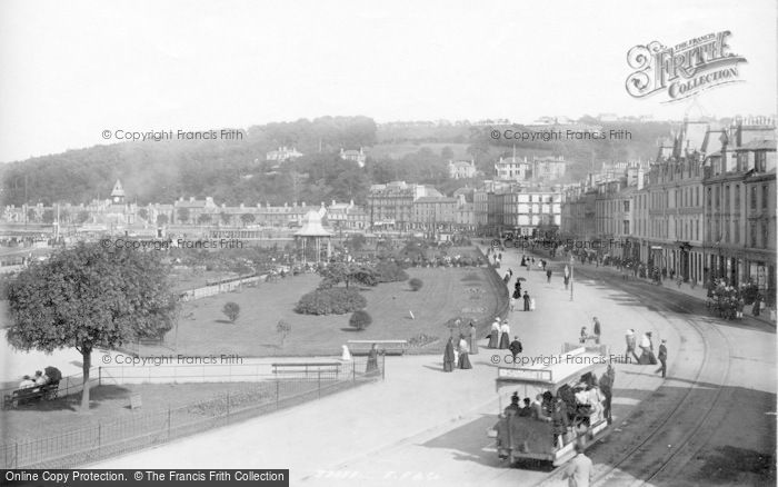 Photo of Rothesay, The Esplanade 1897