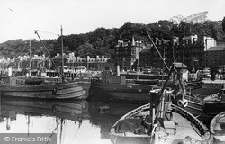 Rothesay, The Harbour c.1955