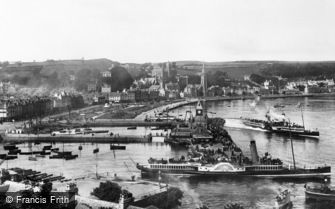 Rothesay, the Pier and Steamers 1897