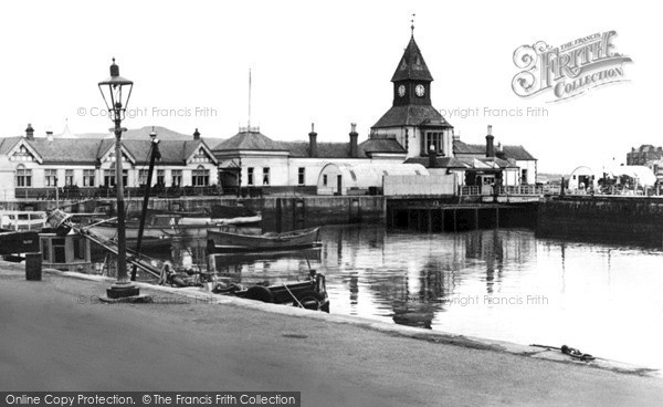 Photo of Rothesay, The Pier c.1950