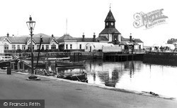 The Pier c.1950, Rothesay