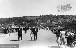 The Promenade c.1955, Rothesay