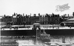 Rothesay, The Town From The Pier c.1955