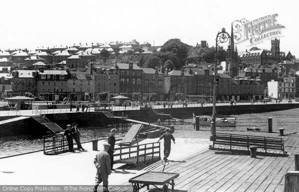 Photo of Rothesay, The Town From The Pier c.1955