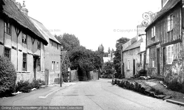 Photo of Rothley, Old Cottages, Fowke Street c.1955