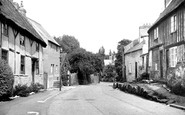 Rothley, Old Cottages, Fowke Street c1955