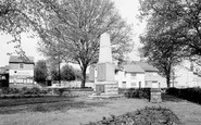 Rothley, the Memorial c1965
