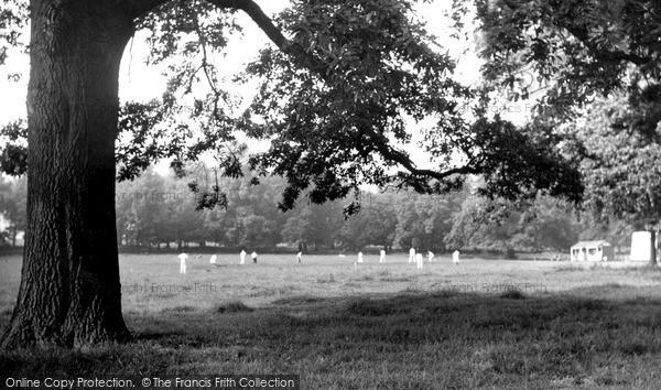 Photo of Rothley, The Park c.1955