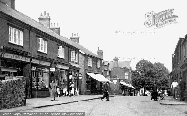 Photo of Rothley, Woodgate 1951