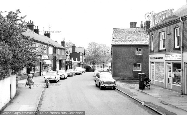 Rothley, Woodgate c1965