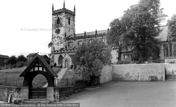 Rothwell, the Church c1960