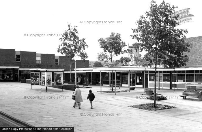 Rothwell, the New Shopping Centre c1965