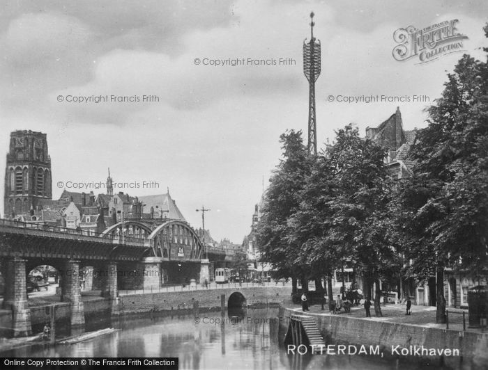 Photo of Rotterdam, De Kolk c.1930