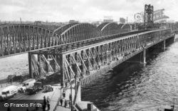 Maasbruggen c.1930, Rotterdam
