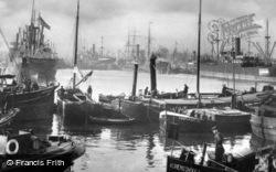 Port View c.1930, Rotterdam