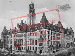 Stadhuis c.1930, Rotterdam
