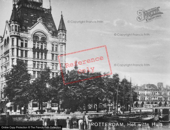 Photo of Rotterdam, Witte Huis c.1930