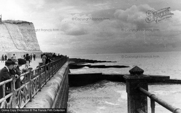 Photo of Rottingdean, Cliff And Groyne c.1950