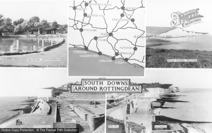 Photo of Rottingdean, Composite c.1960
