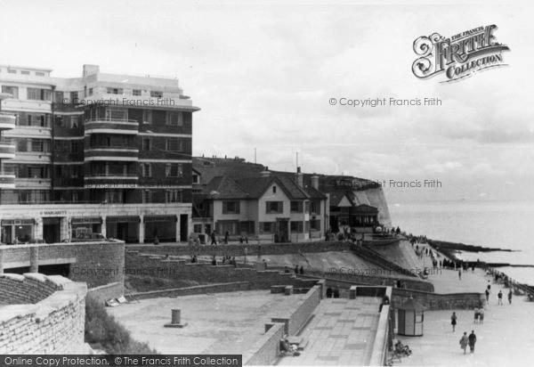 Photo of Rottingdean, East Cliff c.1950