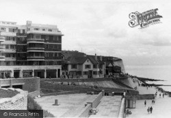 Rottingdean, East Cliff c.1950