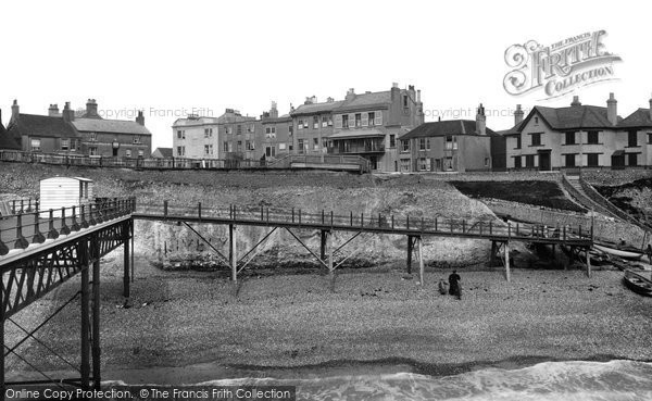 Photo of Rottingdean, From The Pier 1896