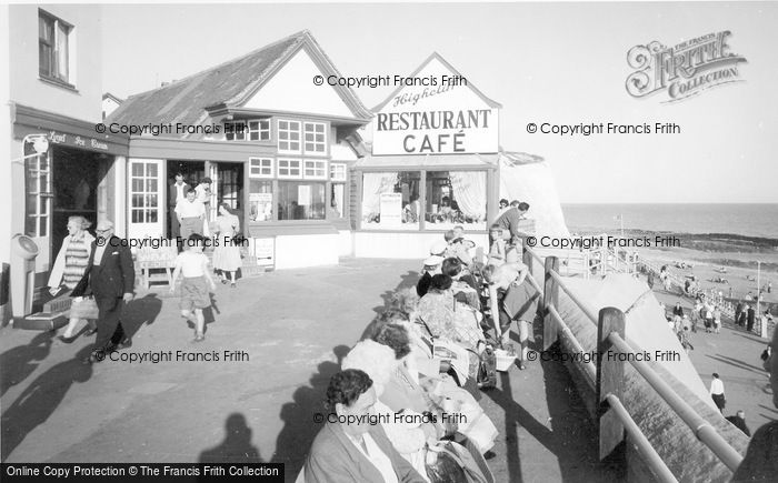 Photo of Rottingdean, Highcliff Restraurant c.1965
