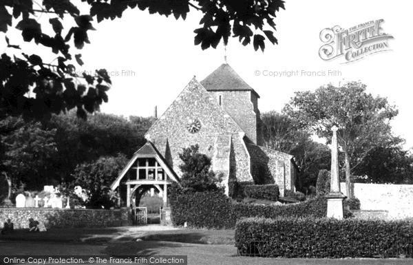 Photo of Rottingdean, Parish Church Of St Margaret c.1950
