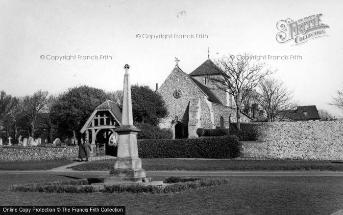 Photo of Rottingdean, Parish Church Of St Margaret c.1955