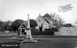 Rottingdean, Parish Church Of St Margaret c.1955
