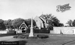 Rottingdean, Parish Church Of St Margaret c.1960