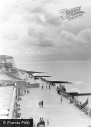 Rottingdean, Promenade c.1950