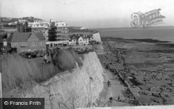 Promenade From The Cliff c.1955, Rottingdean