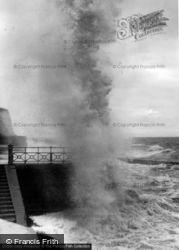 Rough Sea c.1965, Rottingdean