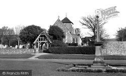 Rottingdean, St Margaret's Church c.1965