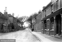 Rottingdean, Street 1896
