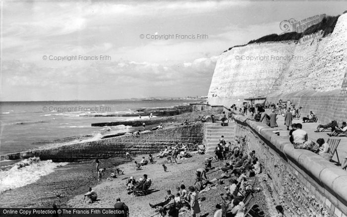 Photo of Rottingdean, The Beach c.1965
