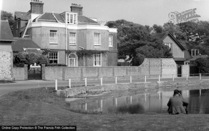 Photo of Rottingdean, The Green c.1950