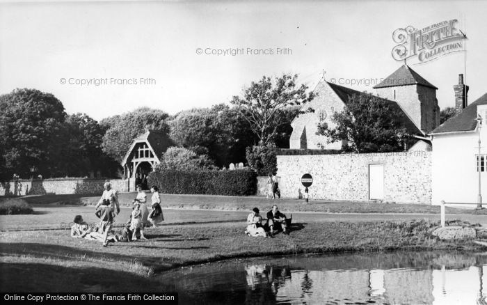 Photo of Rottingdean, The Pond c.1955