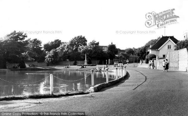 Photo of Rottingdean, The Pond c.1955