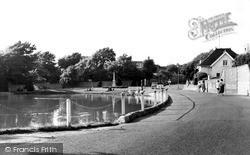 Rottingdean, The Pond c.1955