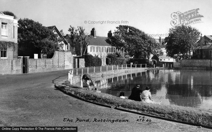 Photo of Rottingdean, The Pond c.1960