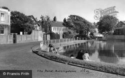 Rottingdean, The Pond c.1960