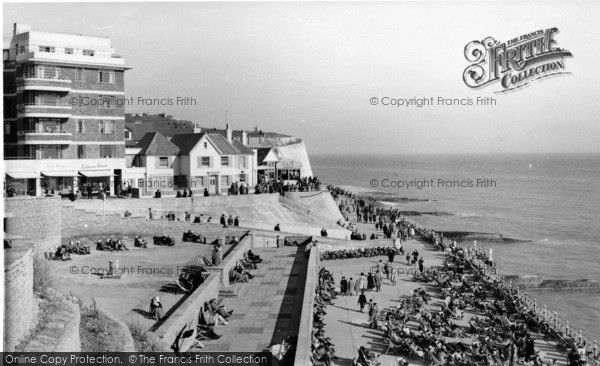 Photo of Rottingdean, The Promenade c.1955