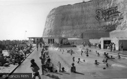Rottingdean, The Swimming Pool c.1965