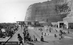 Rottingdean, The Swimming Pool c.1965